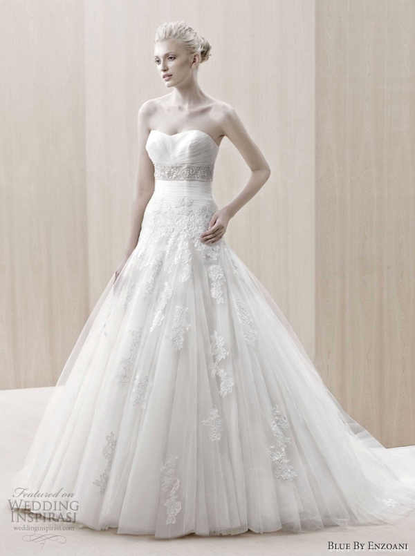 blue by enzoani 2012 wedding dresses edson