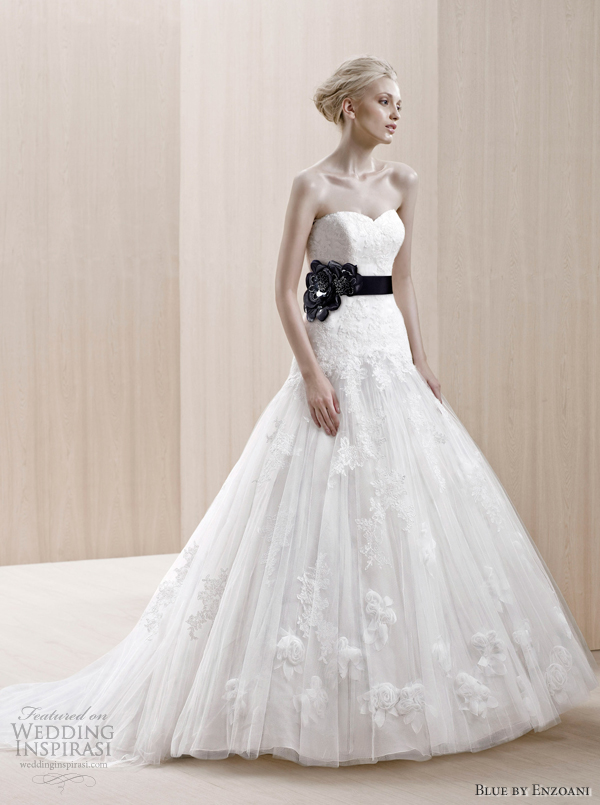 blue by enzoani 2012 wedding dresses elista