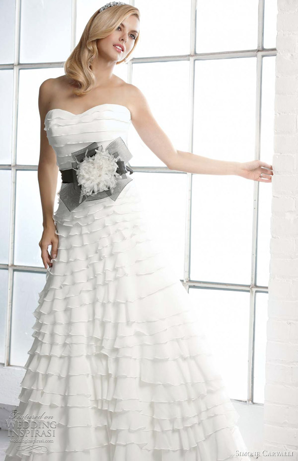 charlize wedding dress 2012 simone carvalli
