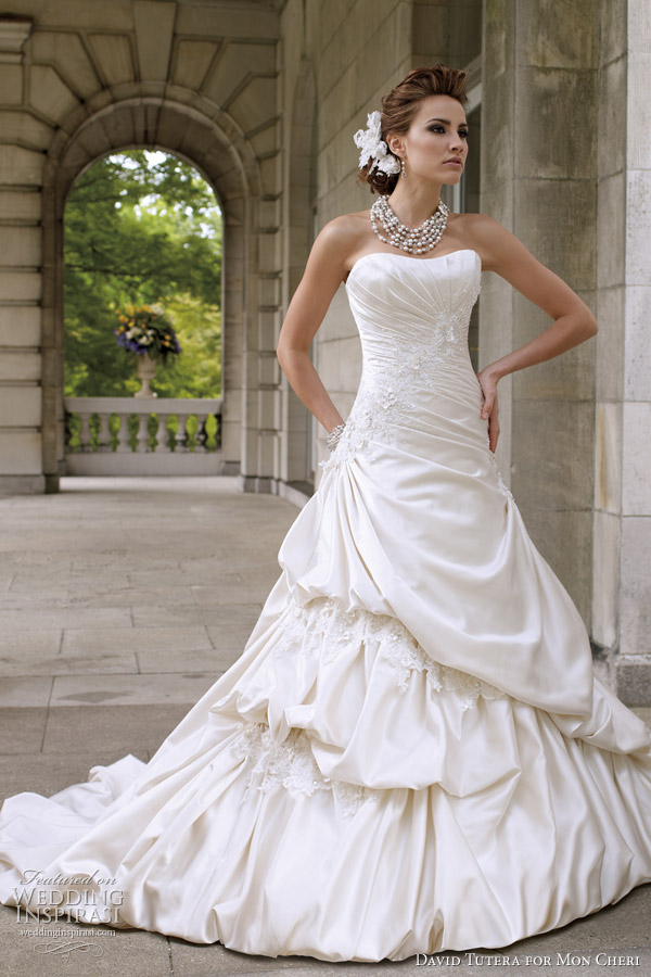 david tutera for mon cheri wedding dresses spring 2012 bridal