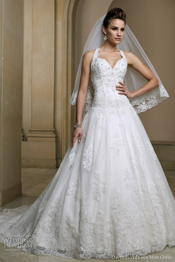 David tutera for mon cheri spring 2012 wedding inspirasi david tutera wedding dresses 2012 fidelia junglespirit Choice Image