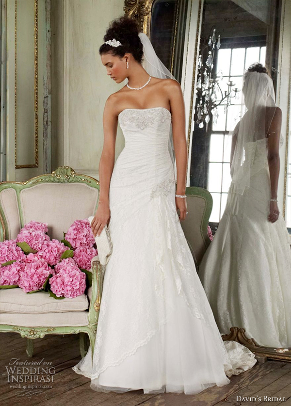 david's bridal 2012 wedding dress  collection