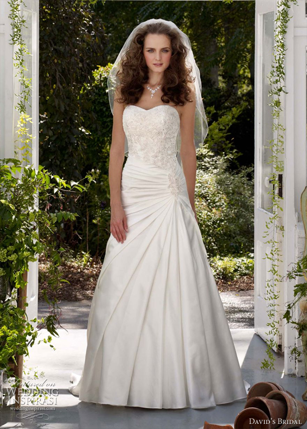 david's bridal 2012 wedding gowns  collection