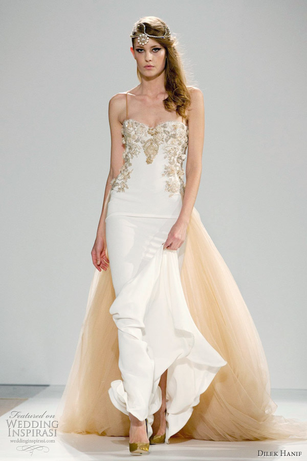 dilek hanif couture wedding dress spring 2012