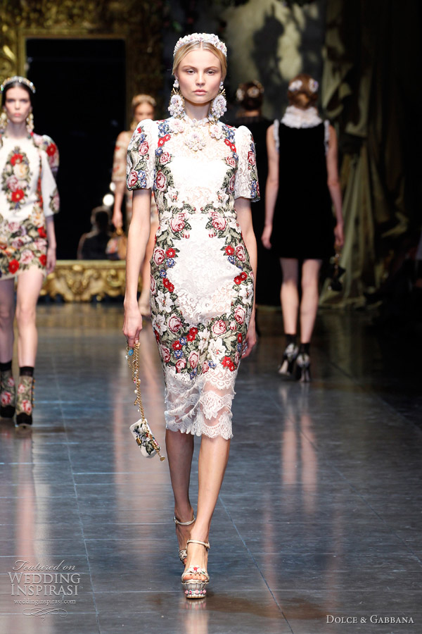 Dolce &amp- Gabbana Fall/Winter 2012-2013 - Wedding Inspirasi - Page 2