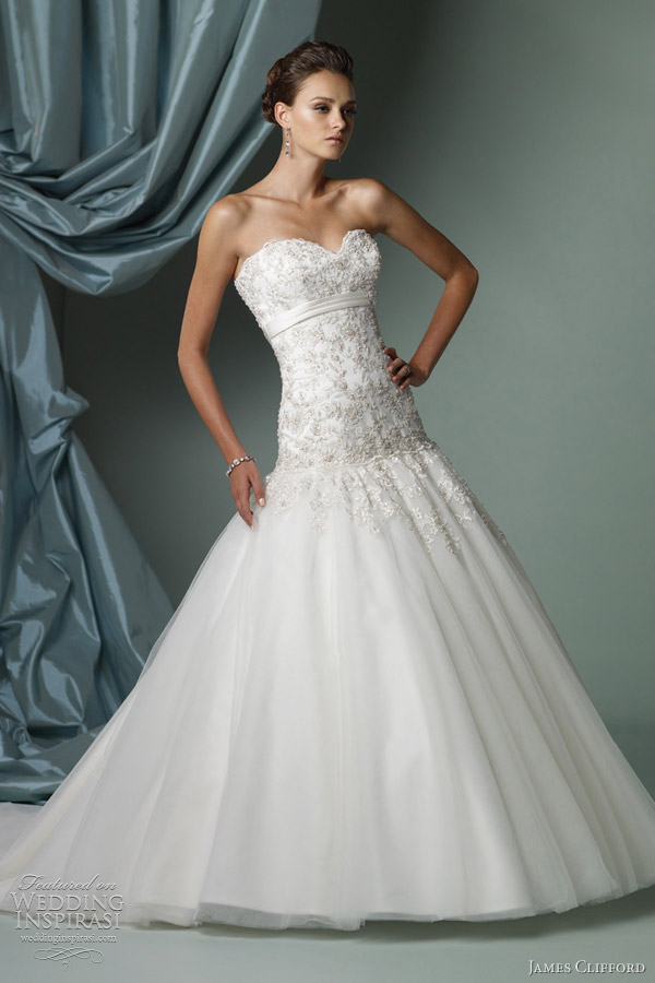 James Clifford Wedding Dresses Spring 2012 Bridal Collection Wedding Insp
