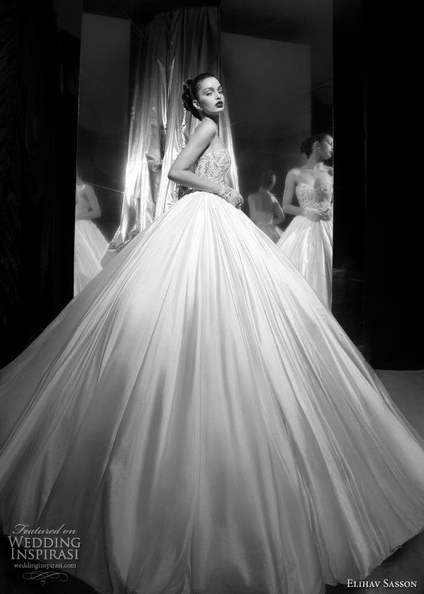 Elihav Sasson Wedding Dresses 2012   Wedding Inspirasi