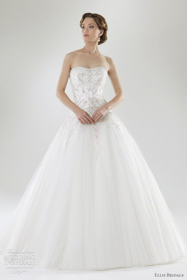 ellis bridals 2012 ball gown wedding dress