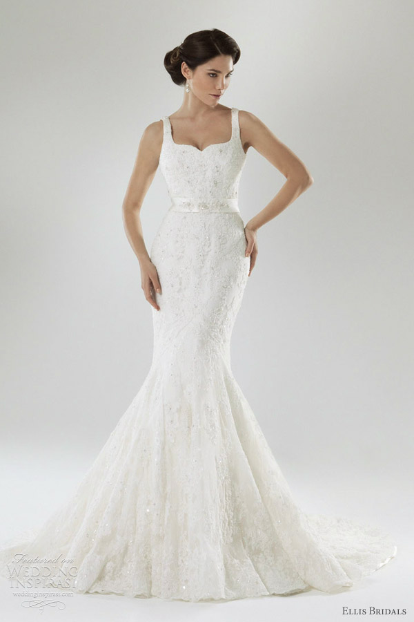 ellis bridals 2012 mermaid wedding dress