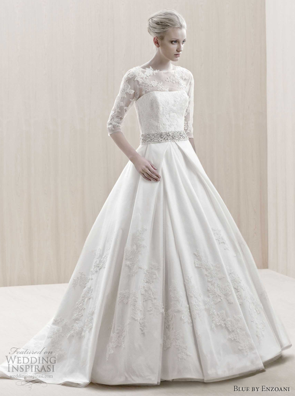 Blue Enzoani Wedding Dress For  : Blue by enzoani wedding dresses inspirasi