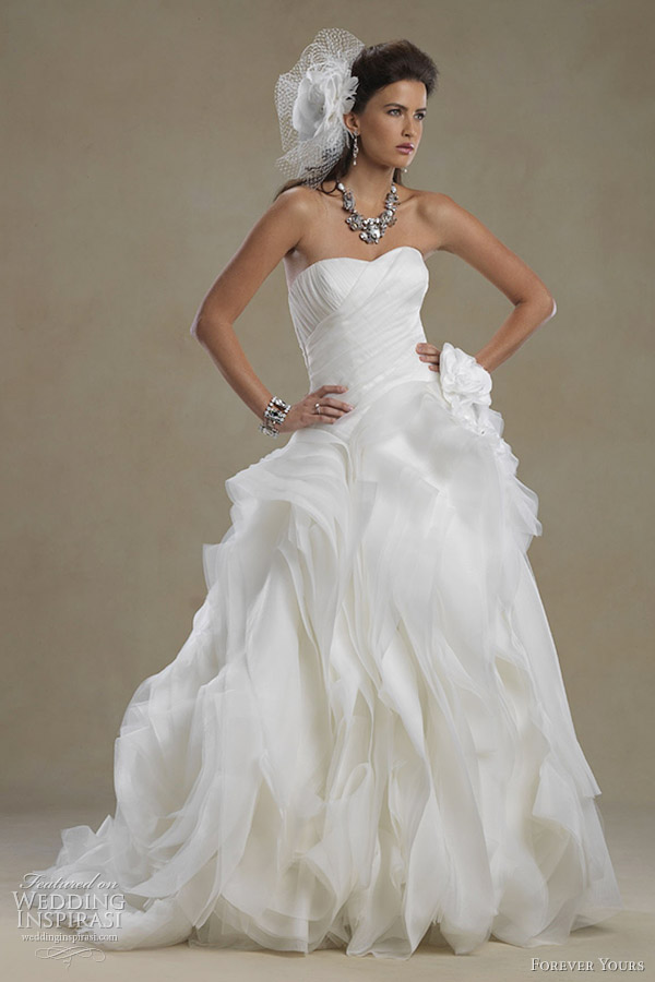 Forever Yours Wedding Dresses 2012 | Wedding Inspirasi