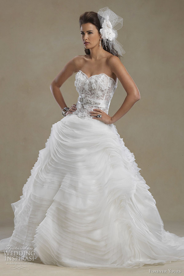 forever yours bridal gowns