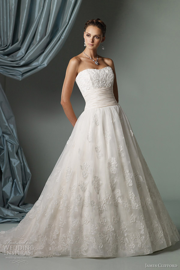 james clifford bridal gowns spring 2012