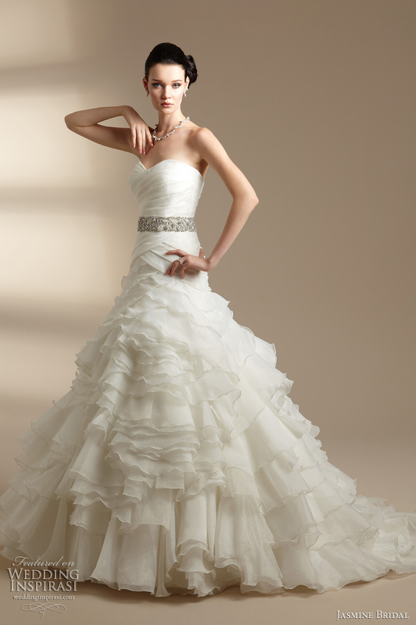 jasmine bridal couture wedding dresses 2012 wedding