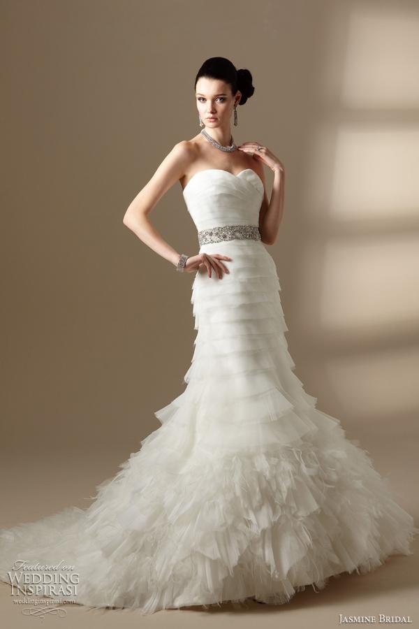 Mermaid Wedding Dress Diamonds Images