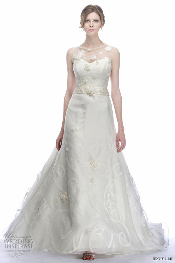 Flowery Wedding Dress 56 Best jenny lee fall wedding