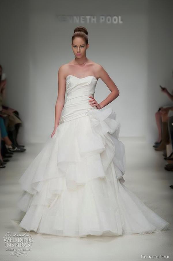 kenneth pool wedding dress