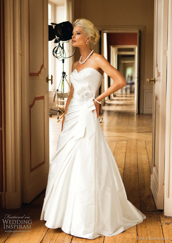 linea raffaelli wedding dresses 2012
