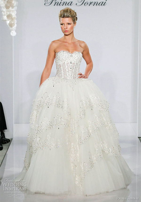 Gallery For Over The Top Ball Gown Wedding Dresses
