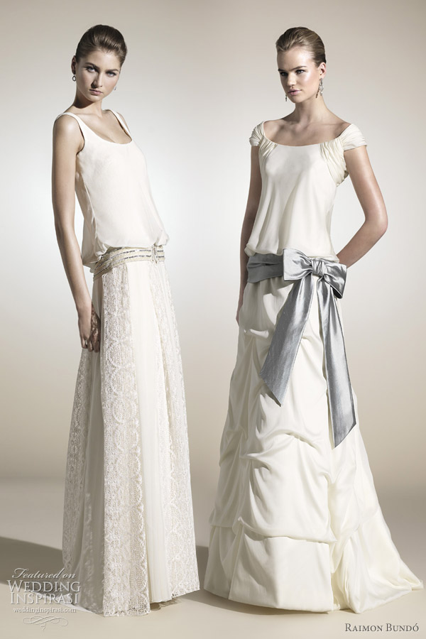 raimon bundo 2012 blouson wedding dresses