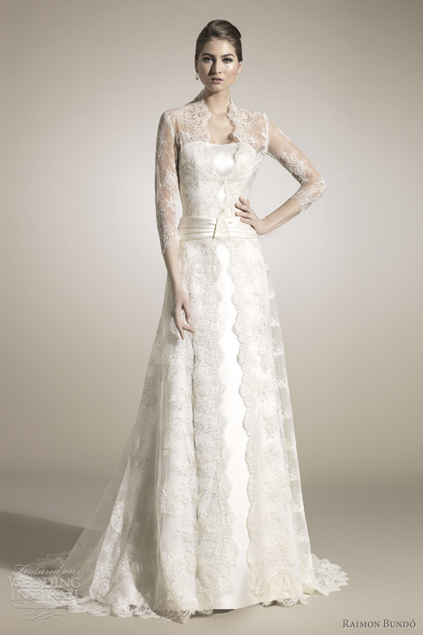 raimon bundo 2012 cecilia wedding dresses