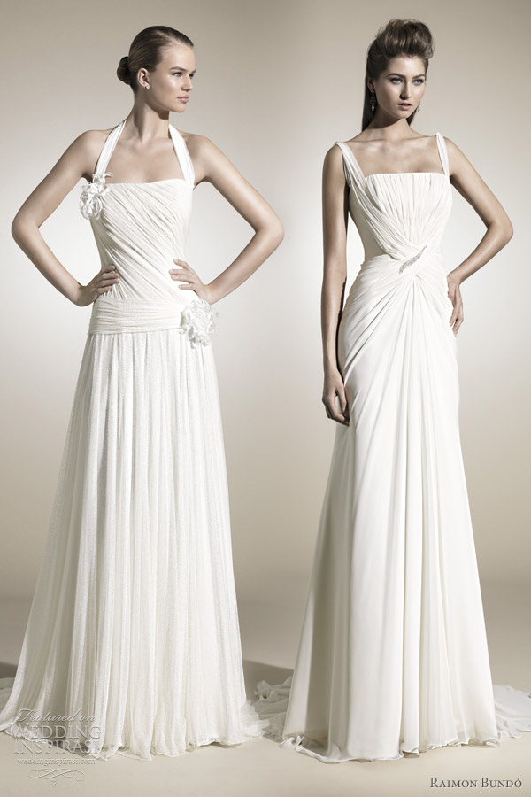 raimon bundo 2012 grecian wedding dresses
