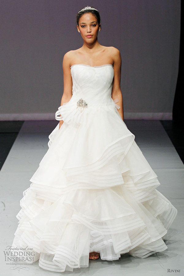 Rivini Wedding Dresses Fall 2012 | Wedding Inspirasi