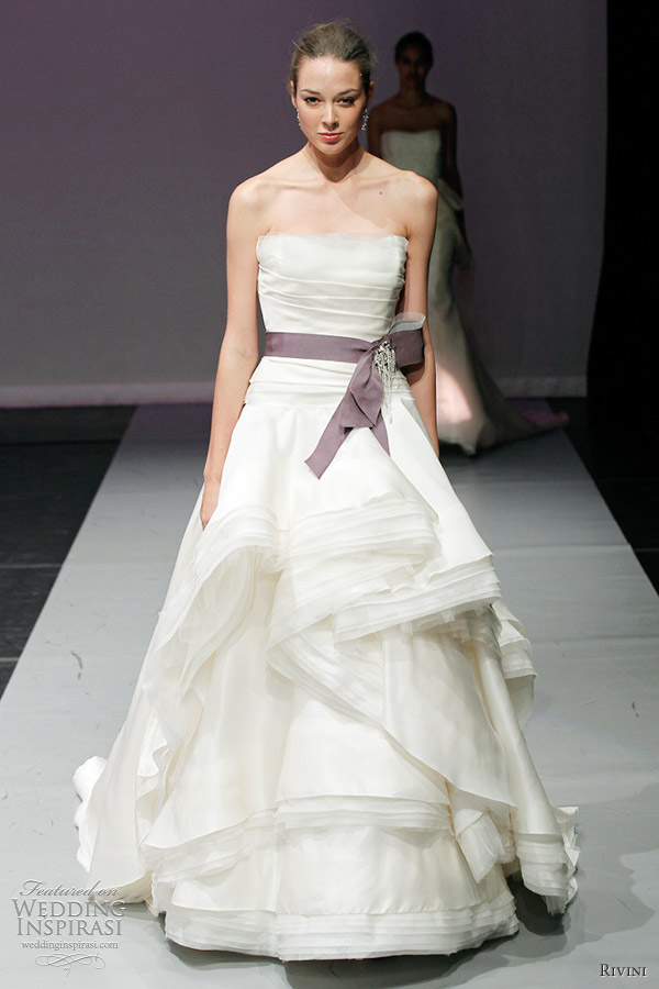rivini bridal fall 2012 giselle wedding dress