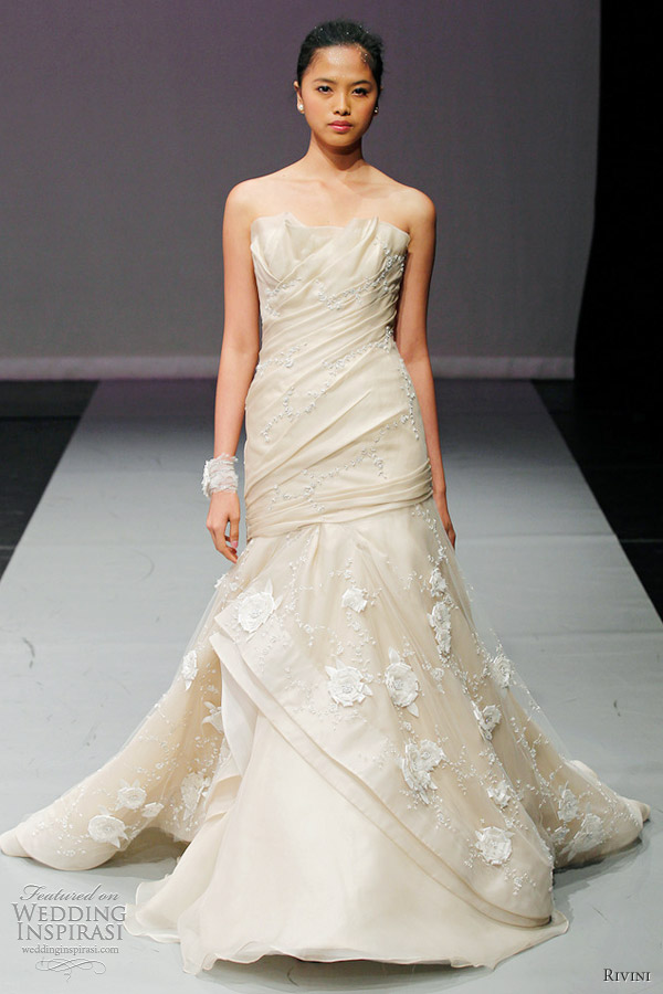 rivini fall 2012 collection karisma wedding dress