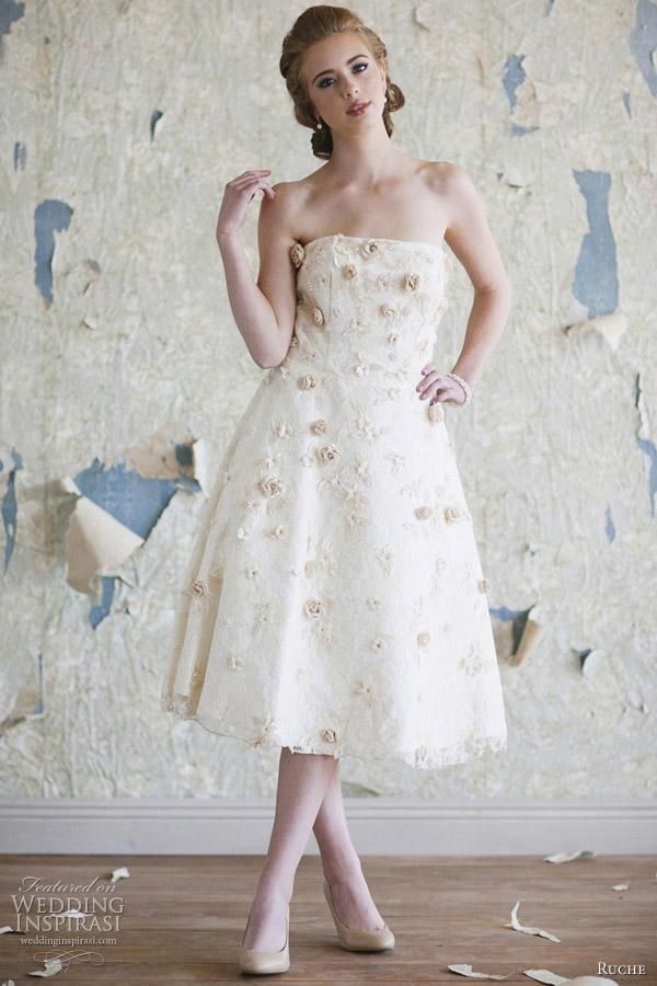ruche 2012 collection amelie wedding dress
