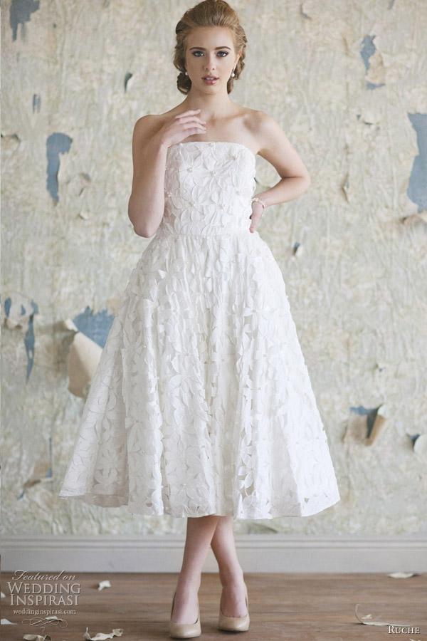 ruche 2012 tiffany wedding dress