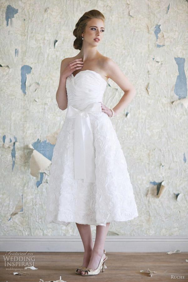 ruche bridal 2012 charlotte wedding dress