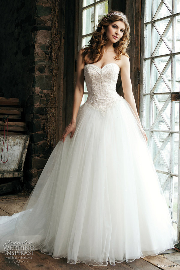 Sincerity Bridal 2012 Wedding Dresses