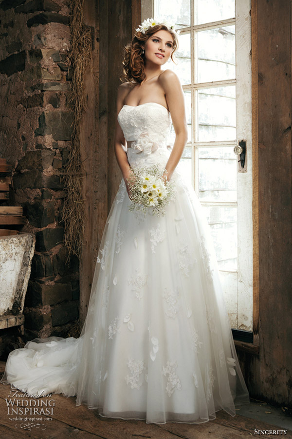 Sincerity Bridal Gowns 2012 Collection