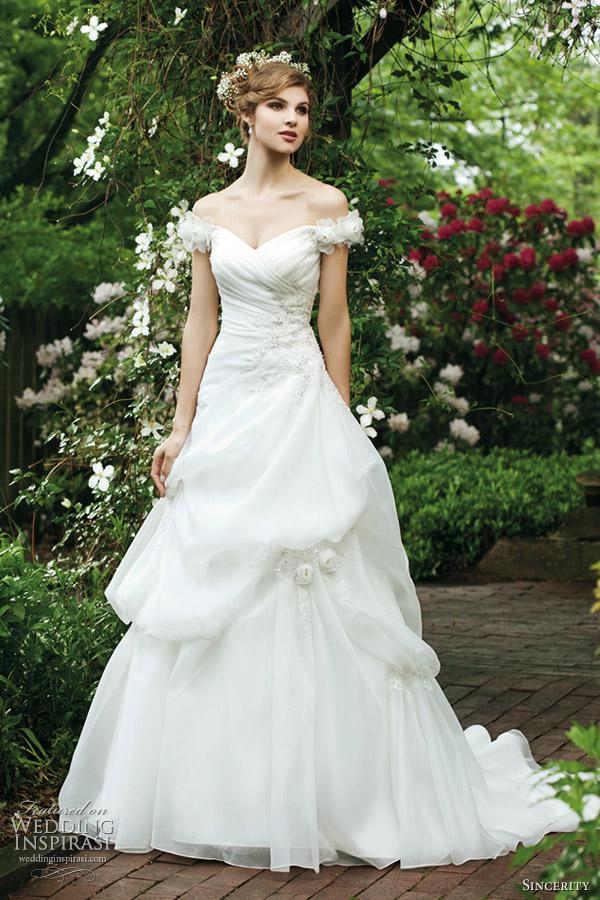 sincerity bridal wedding dresses 2012