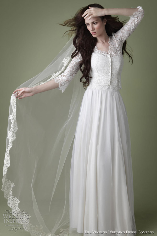 the vintage wedding dress company 2012