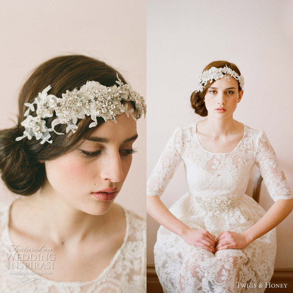 twigs and honey 2012 bridal hair accessories