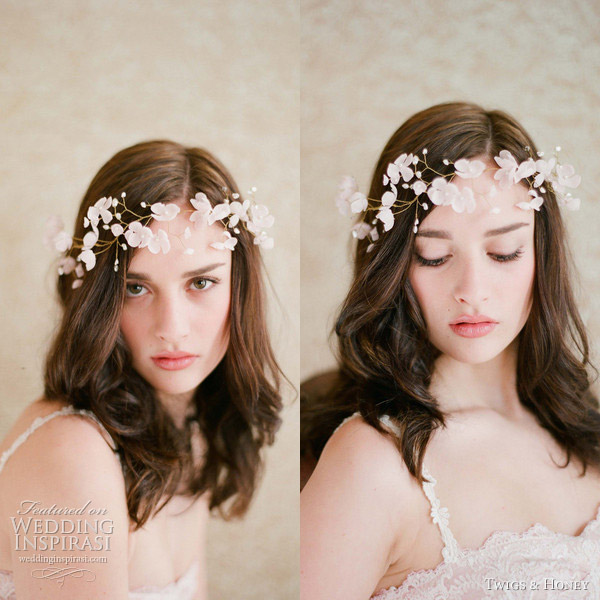 twigs honey 2012 bridal floral crown
