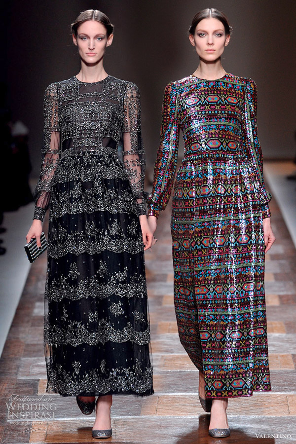 valentino fall 2012 collection runway