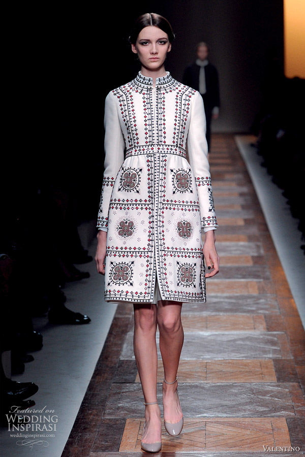 valentino fall 2012 ready to wear