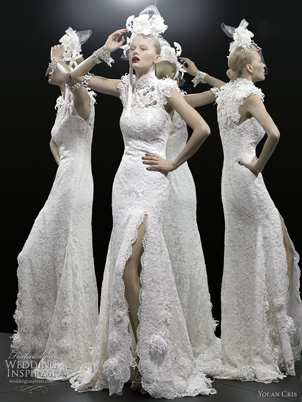 Yolancris wedding dresses 2012 le tre grazie bridal for Wedding dresses in minneapolis