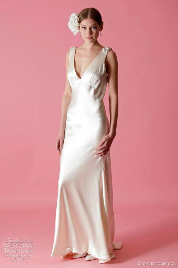 badgley mischka bridal fall 2012 wedding dresses wedding inspirasi