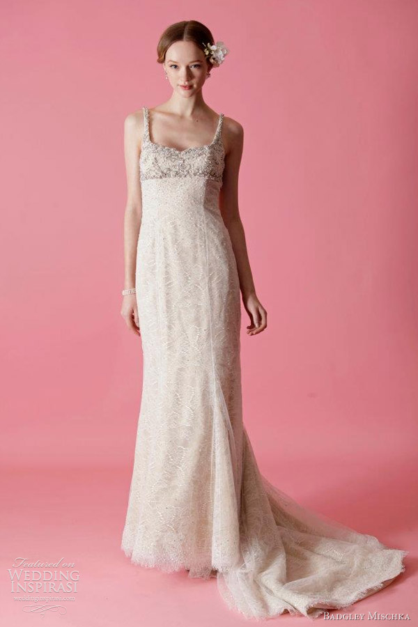 Badgley mischka bridal fall 2012 wedding dresses wedding for Wedding dress badgley mischka