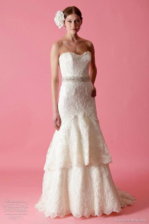 short western wedding dresses
