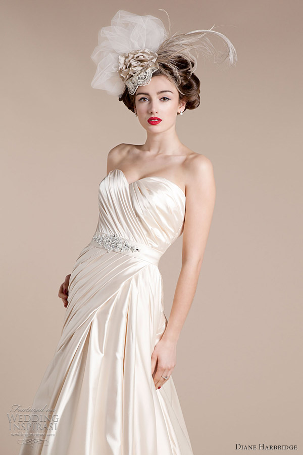 Diane harbridge bridal 2012 wedding dresses wedding for Antique inspired wedding dresses