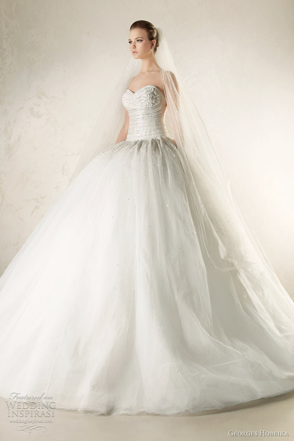 georges hobeika bridal 2012 collection