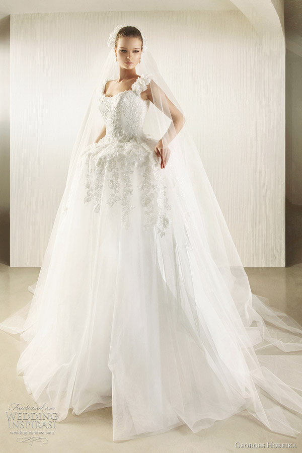 georges hobeika bridal 2012 wedding dress