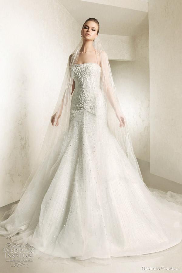 georges hobeika bridal 2012 wedding gown