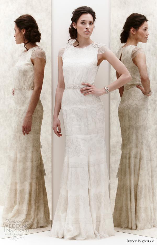 jenny packham spring 2013 petal wedding dress