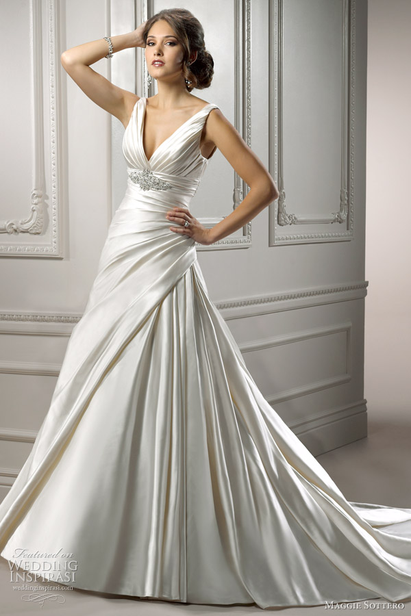 maggie sottero wedding dress 2012 maude